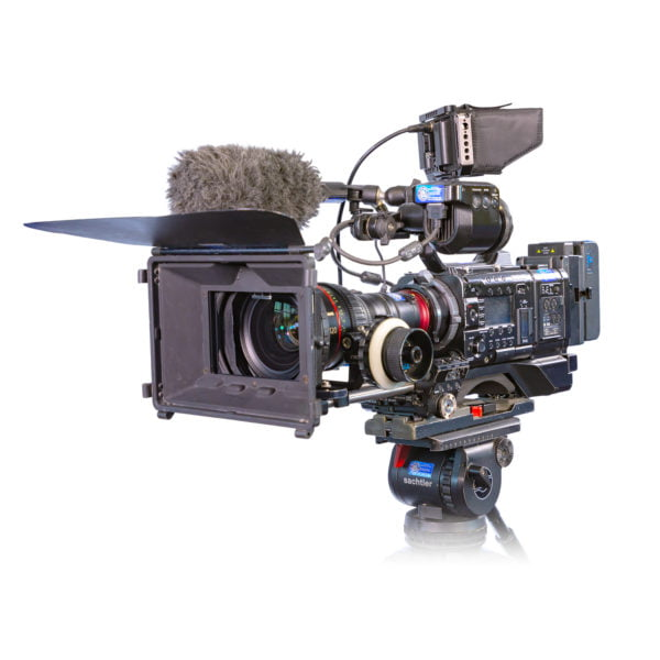 Sony PMW-F55 with Canon CN7 Lens