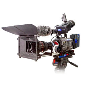Sony PXW-FX9 with Canon CN7 Lens